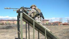 Nueva zona de tiro de precisión en la base de la Brigada Paracaidista