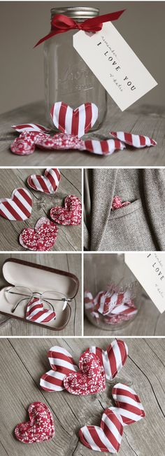 Valentine's Day is when people around the world celebrate the ones they love. There is really no better way to do that than with a handmade gift or card. To give you some inspiration for ways to tell your loved ones how much they mean, I've gathered 33 handmade Valentines gift ideas.