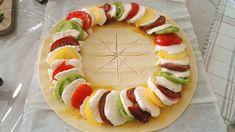 Tarte soleil tomates mozzarella - Oulala c'est bon Mozzarella Sandwich, Tomate Mozzarella, Antipasto, Sandwich Torte, Comfort Food, Gnocchi, Nutella, Entrees, Meal Planning