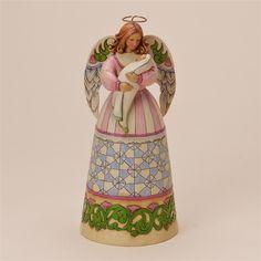 Angel Holding Infant - Jim Shore, Heartwood Creek Figurine, 4017637