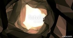 "Download the royalty-free video ""Zoom Through Low Poly Cave Tunnel With Glowing Light at End Animated 3D Rendered Intro Video"" created by artislife at the best price ever on Fotolia.com. Browse our cheap image bank online to find the perfect stock video clip for your marketing projects!"