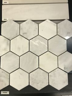 Master bath - 12x12 bath floor, hex shower floor, marble 12x12 shower walls