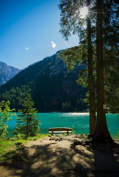 Braies Lake, Alto Ad beautiful places for travel