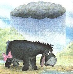 I'd look on the bright side if I could find it. ~Eeyore