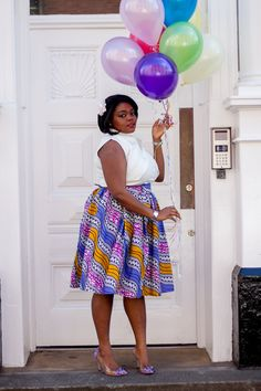 African clothing, ankara African skirt, African print skirt, Ankara skirt, wax print skirt, midi skirt by Laviye on Etsy