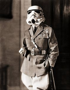 Historical Storm Trooper  www.junkfoodclothing.com