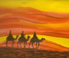 beyforart: Die drei Könige reiten weiter und wir ändern das S...