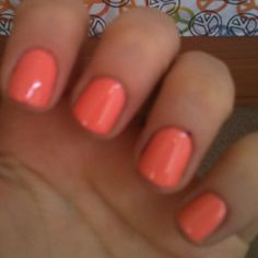 Perfect for spring and summer! Coral.