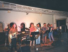 Back in the day when the Junkyard Saints were Gumbo Junkyard and had a washboard, specializing in Cajun Zydeco music!