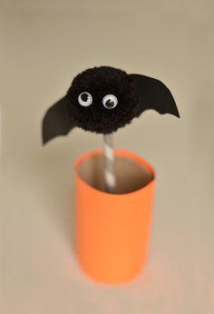 Halloween Craft | Make Pom Pom Pop ups | willowday