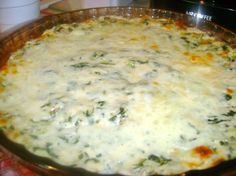 Copy cat - Applebee's Hot Artichoke and Spinach Dip.  This is super easy and always gone quick!