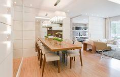 Sala de jantar (6) – mesa encostada