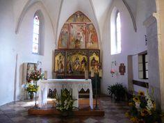 Salter - interno della Chiesa di S. Biagio