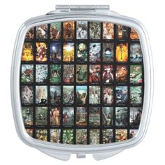tarot cards Halloweenthemes Mirror For Makeup - glitter gifts personalize gift ideas unique