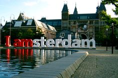 I amsterdam BEEN HERE. sat on the s and m