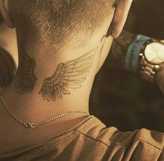 hq, justin bieber, tattoo, tatuaje, wings