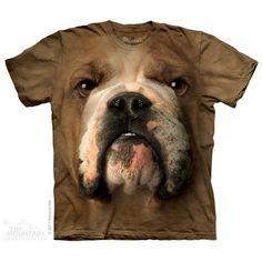 Bulldog Face Tee