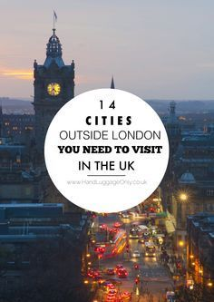 14 Cities Outside of London That You Need To Visit In The UK! - Hand Luggage Only - Travel, Food & Home Blog Places To Travel, Places To Go, Travel Destinations, Reisen In Europa, Voyage Europe, England And Scotland, London Travel, Travel Uk, Travel Tips