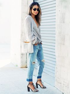 NYC and L.A. Girls Wear These 5 Pieces Very Differently via @WhoWhatWear