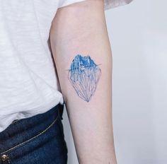 Tattoo artist: soltattoo Ice berg