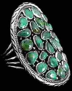 Extraordinary Native American Turquoise Cuff