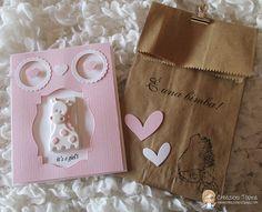 Creazioni Topina Erika: Card Nascita ( n. 12/2015 )