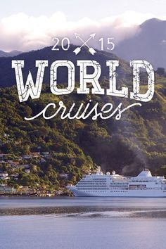 Ready to take the new step in cruising? Check out these amazing voyages traveling the world for as long as 5 months. Your adventure of a lifetime awaits!