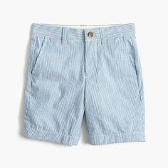 crewcuts Boys Stanton Short In Seersucker (Size 7 Kid)