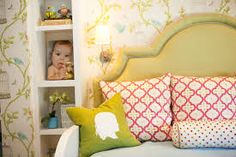 Scatter cushions help to contrast tones of pastel for a unique look.