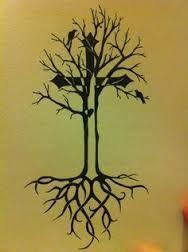 Resultado de imagen para tree cross tattoo designs