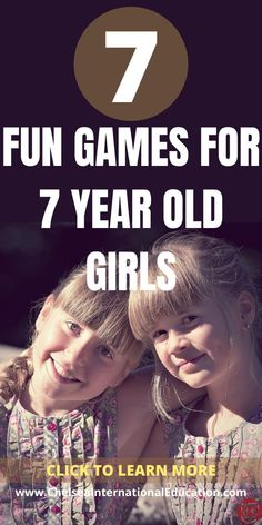 If you are looking for fun games for 7-year-old girls, then look no further! In this post, we present to you 7 really fabulous and fun games for 7-year-old girls that will help them to improve their analytical skills and reasoning abilities and, in turn, schooling and grades. These fun games for 7-year-old girls can be used to help prepare them for schoolwork, examinations, and as general study enhancements. #gamesfor7yearolds #brainteaser #studyskills #studytips #coolgifts #coolgames