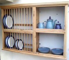 Oak Plate Racks | The Plate Rack Co. - Hand Crafted Bespoke Kitchen Furniture