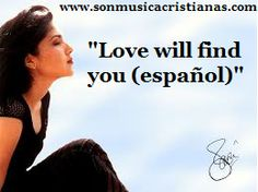 Jaci Velasquez - Love will find you ( en español)