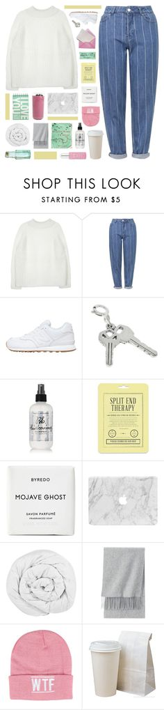 """""""amanda ♥ happy birthday!!"""" by symone-i ❤ liked on Polyvore featuring Topshop, New Balance, Bumble and bumble, Love 21, Byredo, The Fine Bedding Company, Uniqlo, SELECTED, Sally&Circle and Dr. Sebagh"""