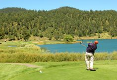 """""""Experience New Mexico golf at its finest on one of the most spectacular golf courses in the country. Nestled among tall pine trees under the majestic Sierra Blanca Peak is the impressive Inn of the Mountain Gods Resort Championship Golf Course.""""    """"One of the top 35 golf courses nationally.""""    -  Golf Week Magazine"""