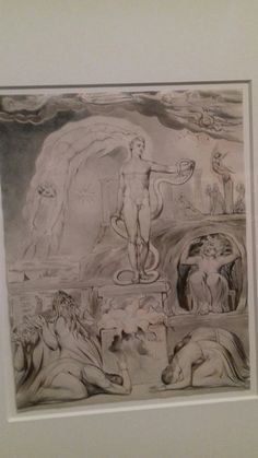 William Blake's Temple of Apollo. See it at Tate Britain's blockbuster autumn exhibition. It's particularly interesting for me as I'm writing about the Temple of Apollo at Delphi right now. Tate Britain, William Blake, Vulture, Apollo, Temple, Museum, Autumn, Writing, Gallery