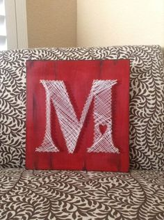 How To Make String Art Letters?