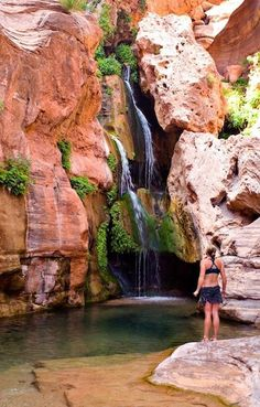 the Hidden Place of the Grand Canyon