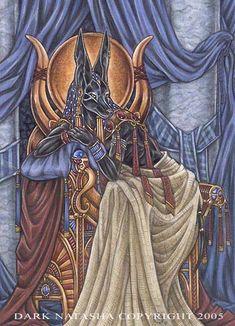 'Ancient Ways' by darknatasha. Anubis.