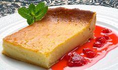 Receta de Pastel de queso con jarabe de frutos rojos