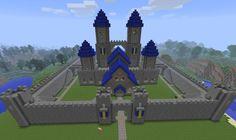 Minecraft: Castle W. by on DeviantArt - Minecraft World 2020 Minecraft Castle Walls, Minecraft Mountain Castle, Minecraft Castle Designs, Minecraft Castle Blueprints, Minecraft Creations, Minecraft Crafts, How To Play Minecraft, Minecraft Stuff, Minecraft Ideas