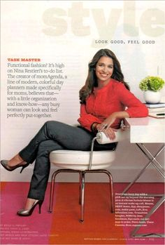 momAgenda featured in Better Homes and Gardens