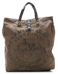 3c633c67c5adf Lavaggio Stone Teodorano Shopper grau 38 cm Taschen Leder