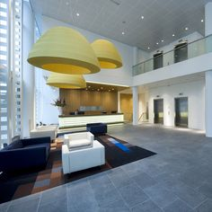 Bell installation, Hotel in the Netherlands #bell #lightecture #architecture #axolight
