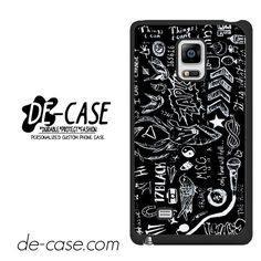 5SOS Tatoos Black DEAL-152 Samsung Phonecase Cover For Samsung Galaxy Note Edge