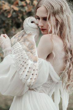 Owl magic, photography by Jovana Rikalo - Ego - AlterEgo Magical Photography, Fantasy Photography, Photography Poses, Imagen Natural, Photo Reference, Professional Photographer, Portrait Photographers, Pretty People, Photoshoot