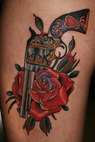pictures of pretty pistols roses on it - Google Search