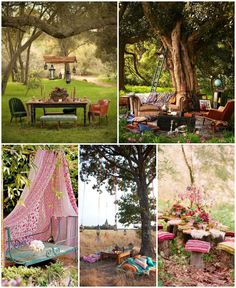 Do you want having a garden like no one else in your neighborhood? What about a garden with a Bohemian style ? Look at those ideas, a bohemian garden seems to be the best place to relax and enjoy outside! Hope these gardens will inspire you to do the same on your side! Source: best-picnic-gallery.bl…