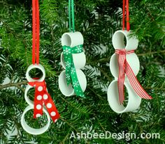 Ashbee Design: PVC Christmas Ornaments • Absolutely! • DIY, SATURDAY, DECEMBER 1, 2012