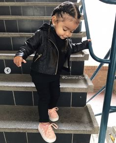 24 Ideas For Baby Outfits Swag Jackets Cute Kids Fashion, Baby Girl Fashion, Toddler Fashion, Fashion Children, Cute Mixed Babies, Cute Black Babies, Black Baby Boys, Cute Little Girls Outfits, Toddler Boy Outfits